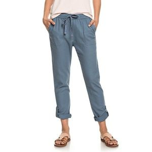 BNWT Roxy Symphony Lover Linen Blend Pants